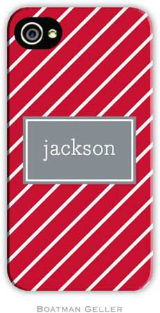 Boatman Geller - Create-Your-Own Personalized Hard Phone Cases (Kent Stripe)