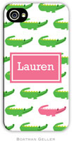 Boatman Geller Hard Phone Cases - Alligator Repeat