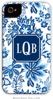 Boatman Geller Hard Phone Cases - Classic Floral Blue (Preset)