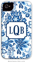 Boatman Geller Hard Phone Cases - Classic Floral Blue