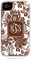 Boatman Geller Hard Phone Cases - Classic Floral Brown (Preset)