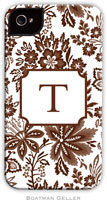 Boatman Geller Hard Phone Cases - Classic Floral Brown