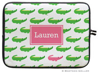 Boatman Geller Laptop Sleeves - Alligator Repeat