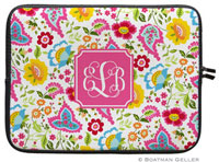 Boatman Geller Laptop Sleeves - Bright Floral (Preset)