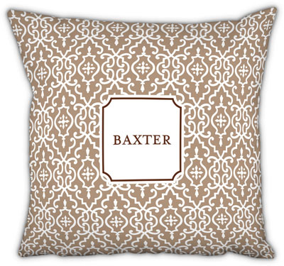 Boatman Geller - Create-Your-Own Square Throw Pillows (Wrought Iron)