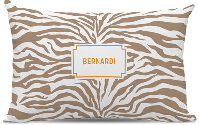 Boatman Geller - Create-Your-Own Lumbar Throw Pillows (Zebra)