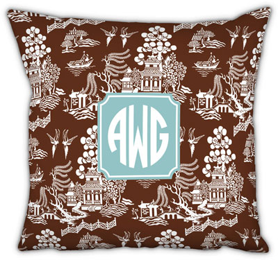 Boatman Geller - Create-Your-Own Square Throw Pillows (Chinoiserie)