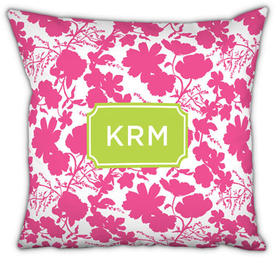Boatman Geller - Create-Your-Own Square Throw Pillows (Eliza Floral)