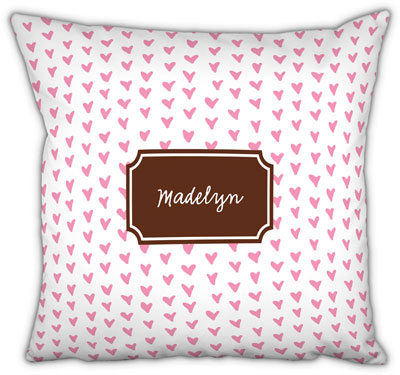 Boatman Geller - Create-Your-Own Square Throw Pillows (Amor)