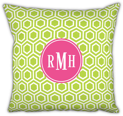 Boatman Geller - Create-Your-Own Square Throw Pillows (Hexagon)