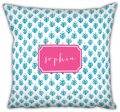 Boatman Geller - Create-Your-Own Square Throw Pillows (Sprig)