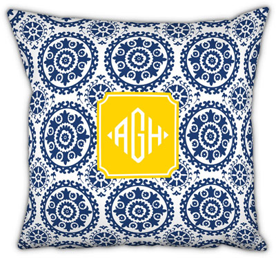 Boatman Geller - Create-Your-Own Square Throw Pillows (Suzani)