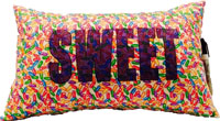 Just Gifts by Robin - Autograph Camp Pillows (Sweet Jelly Beans)