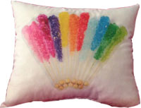 Just Gifts by Robin - Throw Pillows (Rock Candy)
