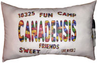 Just Gifts by Robin - Autograph Camp Pillows (Name/Zip Jelly Beans)