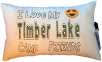 Just Gifts by Robin - Autograph Camp Pillows (Love My Camp Friends)