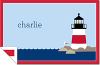 Boatman Geller - Personalized Laminated Placemats (Lighthouse)