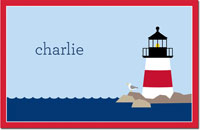 Boatman Geller - Personalized Disposable Placemats (Lighthouse)