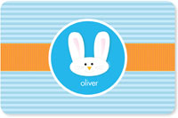 Spark & Spark Laminated Placemats - Smiley Bunny (Blue)