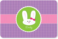 Spark & Spark Laminated Placemats - Smiley Bunny (Purple)