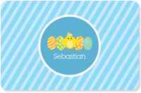 Spark & Spark Laminated Placemats - Easter Chick (Blue)