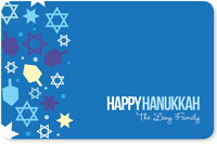 Spark & Spark Laminated Placemats - Hanukkah Wishes