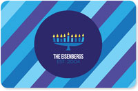 Spark & Spark Laminated Placemats - Bright Hanukkah