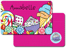 iDesign Laminated Placemats - Sweet Treats