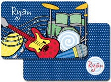 iDesign Laminated Placemats - Rock n Roll