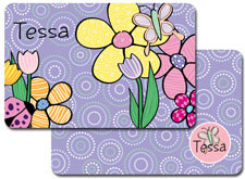 iDesign Laminated Placemats - Flower Patch