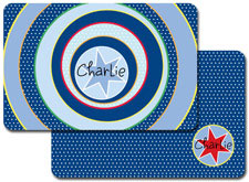 iDesign Laminated Placemats - Spiral Star