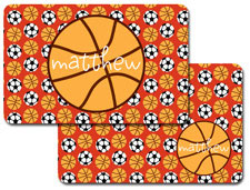 iDesign Laminated Placemats - Basketball