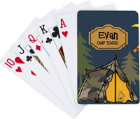 Devora Designs - Playing Cards (Camp Life - Tent)