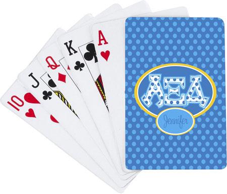 Devora Designs - Playing Cards (Alpha Xi Delta)