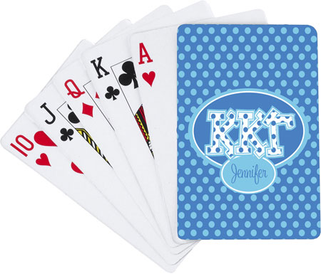 Devora Designs - Playing Cards (Kappa Kappa Gamma)