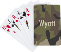 Devora Designs - Playing Cards (Camo Fishing)