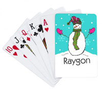 Devora Designs - Playing Cards (Snowman)