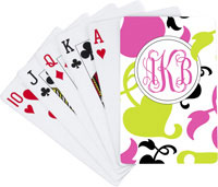 Devora Designs - Playing Cards (Spring Pink Lime)