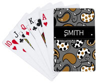 Devora Designs - Playing Cards (Tuxedo Paisley)