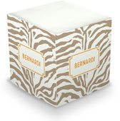Boatman Geller - Create-Your-Own Sticky Memo Cubes (Zebra)