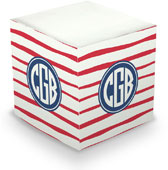 Boatman Geller - Create-Your-Own Sticky Memo Cubes (Brush Stripe)