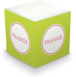 Great Gifts by Chatsworth - Decorative Memo Cubes/Sticky Notes (Lime)