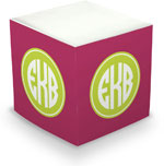 Great Gifts by Chatsworth - Decorative Memo Cubes/Sticky Notes (Amaranth)