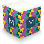 Dabney Lee Personalized Sticky Note Cubes - Acute