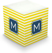Dabney Lee Personalized Sticky Note Cubes - Cabana