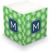 Dabney Lee Personalized Sticky Note Cubes - Clementine