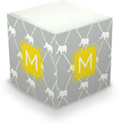Dabney Lee Personalized Sticky Note Cubes - Dumbo