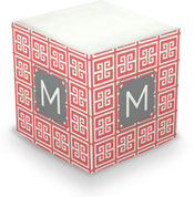 Dabney Lee Personalized Sticky Note Cubes - Greek Key
