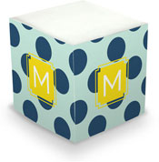 Dabney Lee Personalized Sticky Note Cubes - Jane