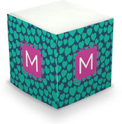 Dabney Lee Personalized Sticky Note Cubes - Love Struck